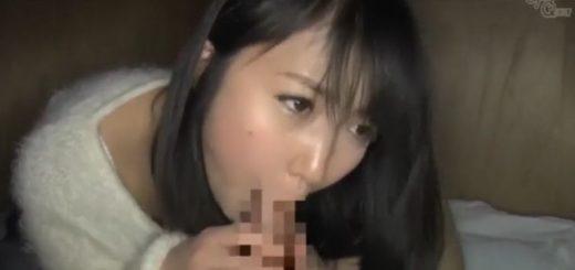 【浅田結梨】童顔の美少女が、丁寧なフェラ&尻コキのあと、乳もみ&クンニされる