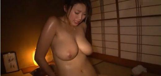 【深田ナナ】爆乳美少女が吉村卓と汗だくになりながら体液を交じり合わせ、快楽を求め合うハードFUCK