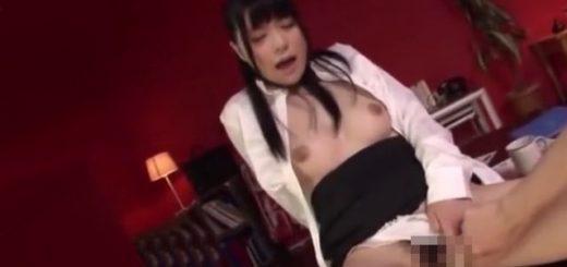 【幸田ユマ】美人秘書が主観で淫語&フェラのあと、手マン&手コキ