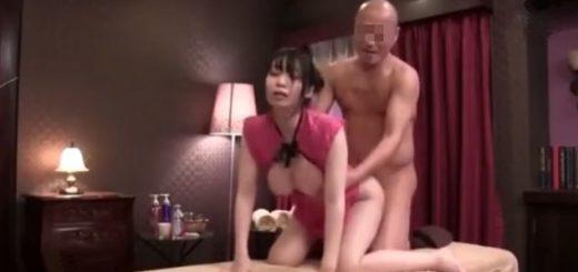 【夢乃あいか】チャイナ服の神乳エステ嬢が、店には秘密で客と本番行為