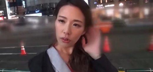 【伊東沙蘭】三十路の美人OLがナンパ師とFUCK