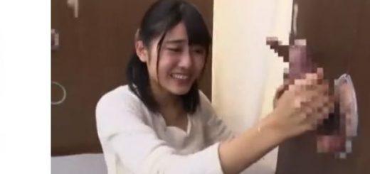 【神宮寺ナオ】清楚なJDが壁穴の複数チ○ポを即ヌキしていく企画